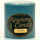 Keystone Candle FT4x4-FrRain Fresh Rain 4x4 Pillar Candles