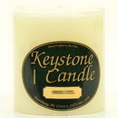 Keystone Candle FT4x4-IvUns Unscented Ivory 4x4 Pillar Candles