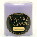 Keystone Candle FT4x4-LemLav Lemon Lavender 4x4 Pillar Candles