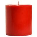 Keystone Candle FT4x4-MacApp Macintosh Apple 4x4 Pillar Candles