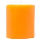 Keystone Candle FT4x4-OTwist Orange Twist 4x4 Pillar Candles