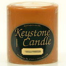Keystone Candle FT4x4-Pumpk Spiced Pumpkin 4x4 Pillar Candles
