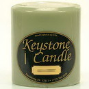 Keystone Candle FT4x4-SandC Sage and Citrus 4x4 Pillar Candles