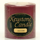Keystone Candle FT4x4-SpPlum Spiced Plum 4x4 Pillar Candles