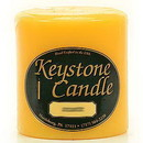 Keystone Candle FT4x4-SunFl Sunflower 4x4 Pillar Candles