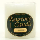 Keystone Candle FT4x4-WhUns Unscented White 4x4 Pillar Candles