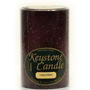 Keystone Candle FT4x6-BlCherry Black Cherry 4x6 Pillar Candles