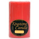 Keystone Candle FT4x6-JucPeach Juicy Peach 4x6 Pillar Candles