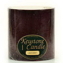 Keystone Candle FT6x6-BlCherry Black Cherry 6x6 Pillar Candles