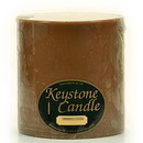 Keystone Candle FT6x6-CinnStick Cinnamon Stick 6x6 Pillar Candles