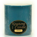 Keystone Candle FT6x6-FrRain Fresh Rain 6x6 Pillar Candles
