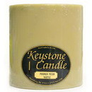 Keystone Candle FT6x6-PPW Pumpkin Pecan Waffles 6x6 Pillar Candles