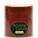 Keystone Candle FT6x6-Redwood Redwood Cedar 6x6 Pillar Candles