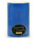 Keystone Candle FT6x9-BChristmas Blue Christmas 6x9 Pillar Candles