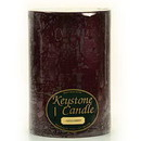 Keystone Candle FT6x9-BlCherry Black Cherry 6x9 Pillar Candles