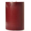 Keystone Candle FT6x9-Redwood Redwood Cedar 6x9 Pillar Candles