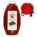 Keystone Candle GBGel-BerrNPin Berries N Pine Scented Gel