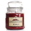Keystone Candle J16-ABS 16 oz Apples and Brown Sugar Jar Candles