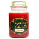 Keystone Candle J26-AppCinn 26 oz Apple Cinnamon Jar Candles