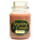 Keystone Candle J26-BAC 26 oz Baked Apple Crisp Jar Candles