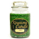 Keystone Candle J26-Bay 26 oz Bayberry Jar Candles