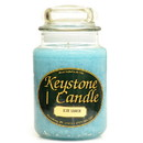Keystone Candle J26-BlLag 26 oz Blue Lagoon Jar Candles