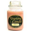Keystone Candle J26-BNut 26 oz Banana Nut Jar Candles