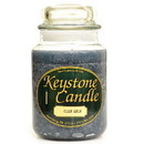 Keystone Candle J26-CCotton 26 oz Clean Cotton Jar Candles