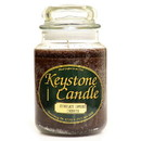 Keystone Candle J26-ChocCovCher 26 oz Chocolate Covered Cherries Jar Candles