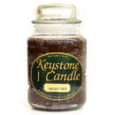 Keystone Candle J26-ChocFudge 26 oz Chocolate Fudge Jar Candles
