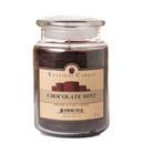Keystone Candle J26-ChocMint 26 oz Chocolate Mint Jar Candles