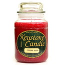 Keystone Candle J26-CinnBals 26 oz Cinnamon Balsam Jar Candles