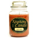 Keystone Candle J26-GandO 26 oz Ginger and Orange Jar Candles