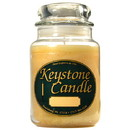 Keystone Candle J26-LemonCook 26 oz Lemon Cookie Jar Candles