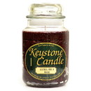 Keystone Candle J26-LPW 26 oz Leather, Pipe, and Woods Jar Candles
