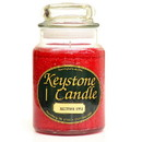 Keystone Candle J26-MacApp 26 oz Macintosh Apple Jar Candles