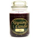 Keystone Candle J26-Merlot 26 oz Merlot Jar Candles