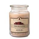 Keystone Candle J26-MochLat 26 oz Mocha Latte Jar Candles