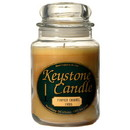 Keystone Candle J26-PumCarSw 26 oz Pumpkin Caramel Swirl Jar Candles