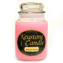 Keystone Candle J26-RaspLem 26 oz Raspberry Lemonade Jar Candles