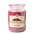 Keystone Candle J26-Rasp 26 oz Raspberry Cream Jar Candles