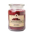 Keystone Candle J26-Redwood 26 oz Redwood Cedar Jar Candles