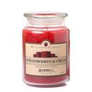 Keystone Candle J26-Straw 26 oz Strawberries and Cream Jar Candles