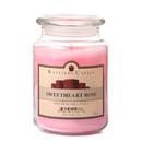 Keystone Candle J26-SwRose 26 oz Sweetheart Rose Jar Candles