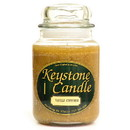 Keystone Candle J26-VanCinn 26 oz Vanilla Cinnamon Jar Candles