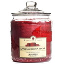 Keystone Candle J64-ABS 64 oz Apples and Brown Sugar Jar Candles