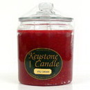 Keystone Candle J64-AppCinn 64 oz Apple Cinnamon Jar Candles