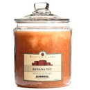 Keystone Candle J64-BNut 64 oz Banana Nut Jar Candles