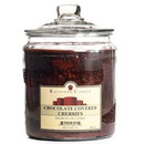 Keystone Candle J64-ChocCovCher 64 oz Chocolate Covered Cherries Jar Candles