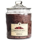 Keystone Candle J64-ChocMint 64 oz Chocolate Mint Jar Candles